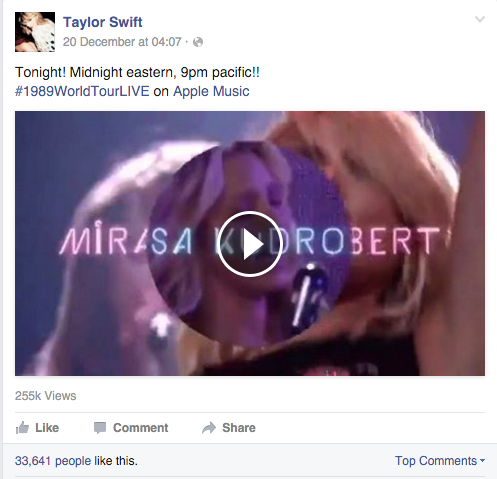 Taylor FB page