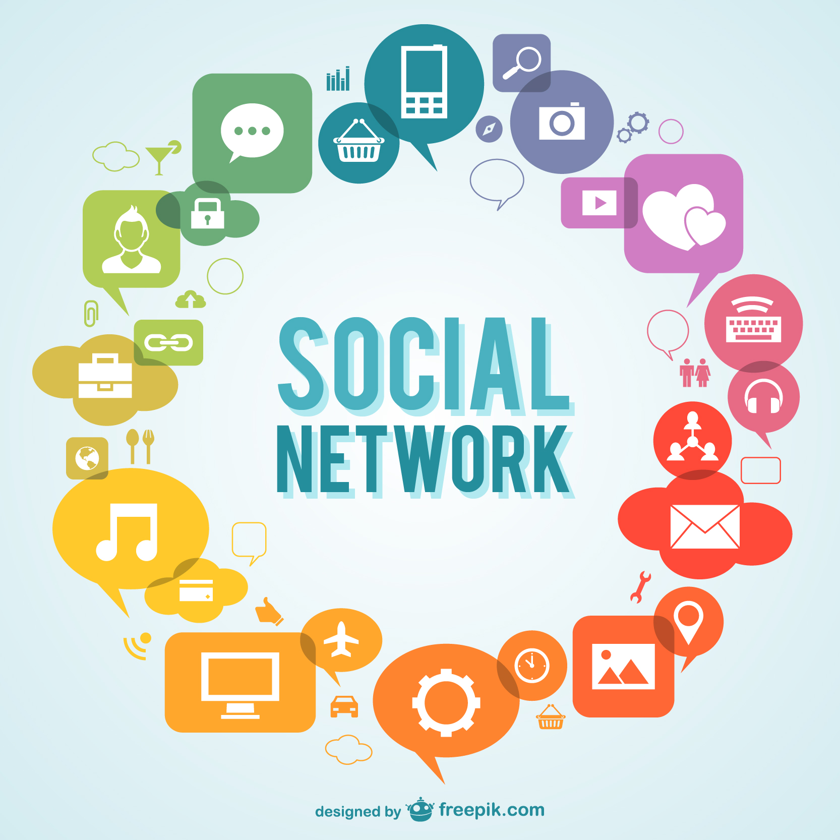 advertising and social networking sites