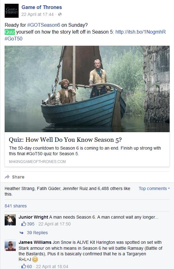 FB Quiz