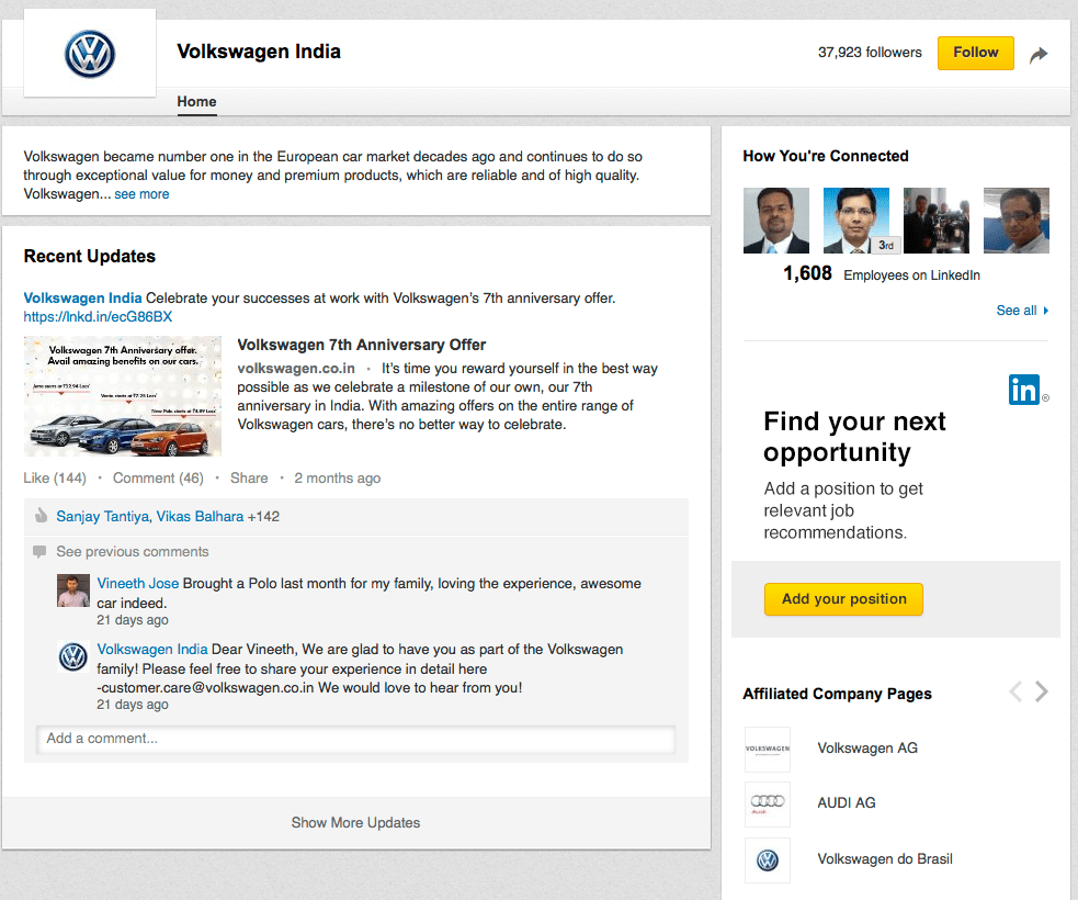 volkswagen marketing strategy in india